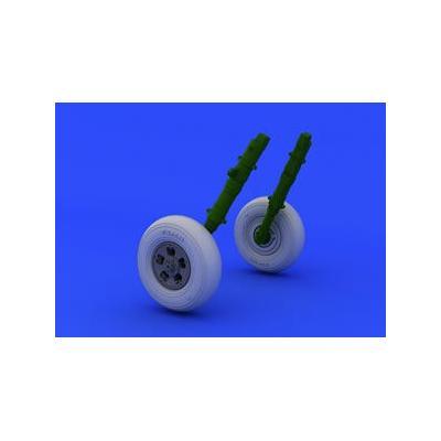 スピットファイア 主輪 - 5スポーク/シームレスタイヤ (1/48スケール ブラッシン EDU648119)の商品画像