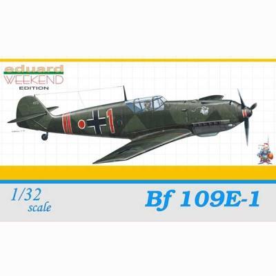 メッサーシュミット Bf109E-1 (1/32スケール ウィークエンド EDU3401)の商品画像