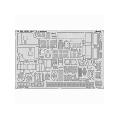 タイガーI 中期型 フェンダー (ドラゴン1/35用) (1/35スケール エッチングパーツ EDU36276)の商品画像