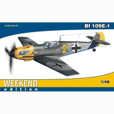メッサーシュミット Bf109E1 (1/48スケール ウィークエンド EDU84164)の商品画像