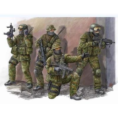 ドイツ連邦軍特殊部隊 KSK (1/35スケール フィギュア 00422)の商品画像