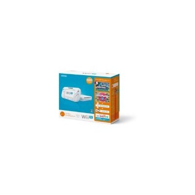 Wii U すぐに遊べるファミリープレミアムセット (シロ)の商品画像