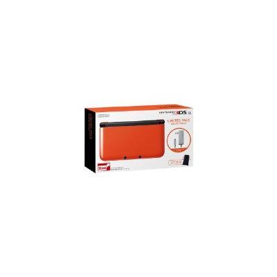 ニンテンドー3DS LL リミテッドパック オレンジ×ブラックの商品画像