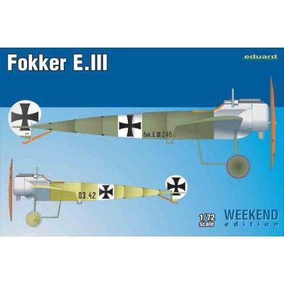 フォッカー E.III ウィークエンドエディション (1/72スケール ウィークエンド EDU7444)の商品画像