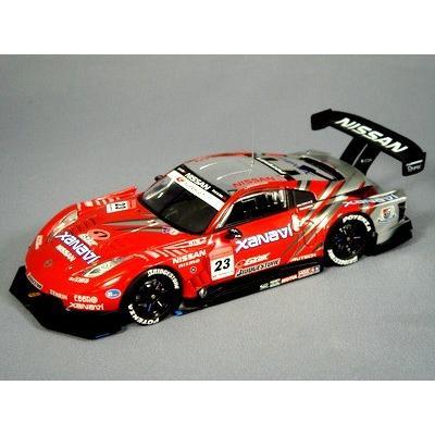ザナヴィ ニスモ Z スーパーGT500 2007 #23 レッド/シルバー (1/43スケール 43913)の商品画像