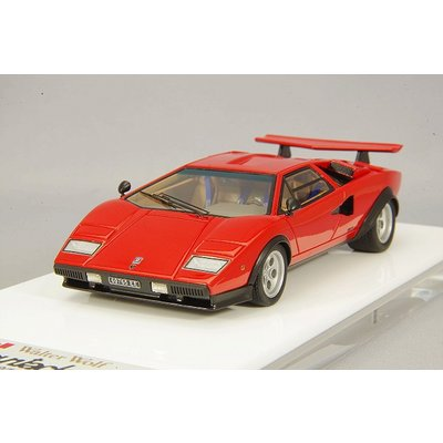 Lamborghini Countach LP400/500S `Walter Wolf` Ch.1120148 1975 (Remasterd) レッド (1/43スケール EIDOLON(アイドロン) EM439A)の商品画像