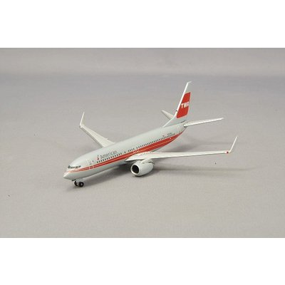 737-800 アメリカン航空 TWA Heritage Livery N915NN (1/500スケール 529259)の商品画像