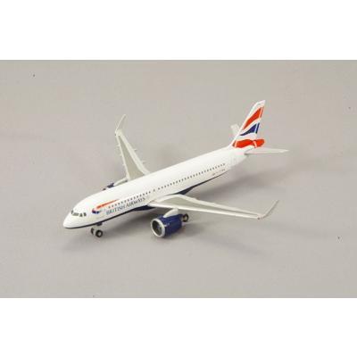 A320neo ブリティッシュエアウェイズ G-TTNA (1/500スケール 532808)の商品画像