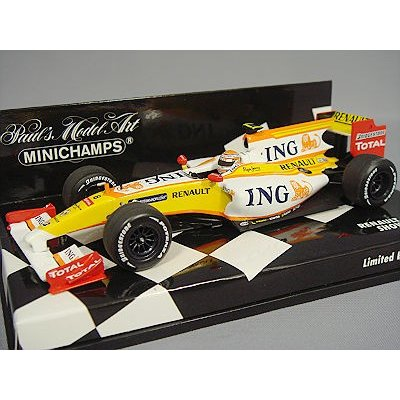 ING ルノー F1 チーム ショーカー 2009 カーNo.8 (1/43スケール MINICHAMPS 400090078)の商品画像
