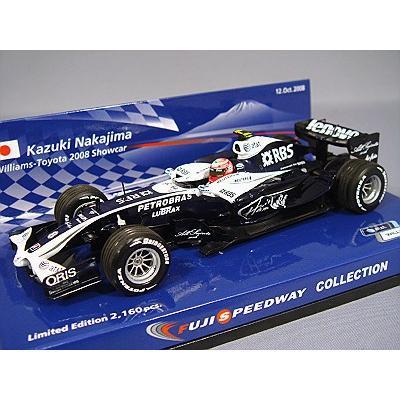Williams Toyota / K.Nakajima / 2008 Show car (1/43スケール MINICHAMPS、F1/富士コレクション 890055)の商品画像