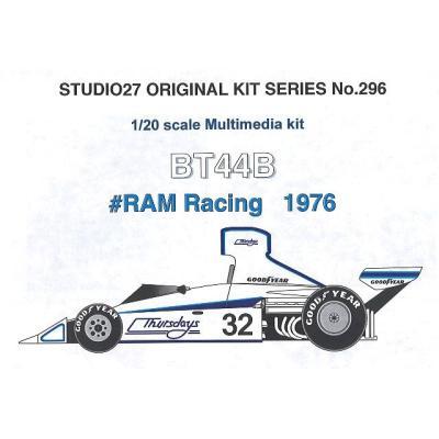 ブラバムBT42/44 RAM Racing (1/20スケール ST27-FK20296)の商品画像
