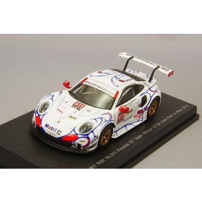 Porsche 911 RSR No.911 Porsche GT Team Winner GTLM class Petit Le Mans 2018 (1/64スケール Sparky Y135)の商品画像