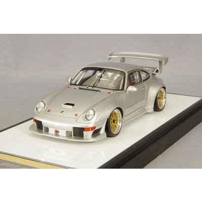 Porsche 911(993) GT2 EVO 1996 シルバー (1/43スケール VISION(ヴィジョン) VM130B)の商品画像