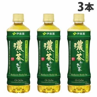 伊藤園 お~いお茶 濃い茶 525ml × 3本 ペットボトルの商品画像