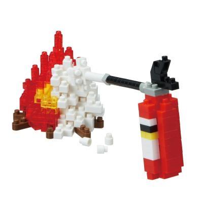ナノブロック アワードセレクション 消火器 NBC_242の商品画像