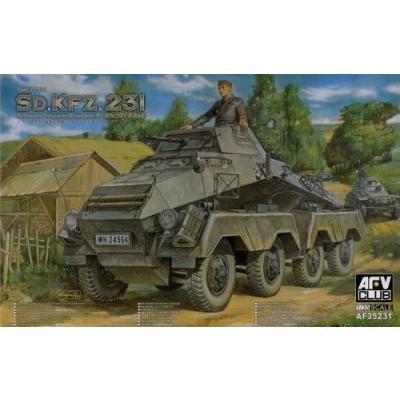 Sd.Kfz231 8輪重装甲車 初期型 (1/35スケール AFVキットシリーズ FV35231)の商品画像