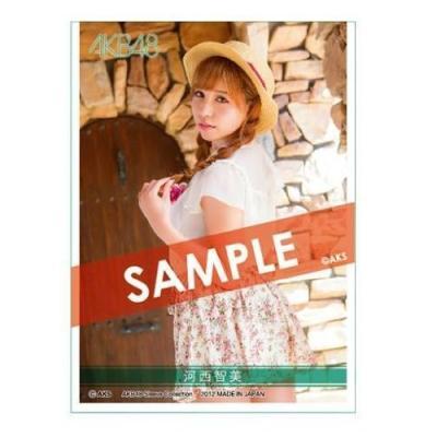 AKB48 スリーブコレクション 河西智美の商品画像