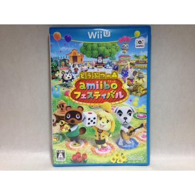 【Wii U】 どうぶつの森 amiiboフェスティバルの商品画像