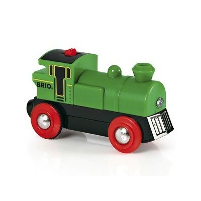 BRIO バッテリーパワー機関車 緑 33595の商品画像