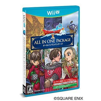 【Wii U】 ドラゴンクエストX オールインワンパッケージ オンライン専用の商品画像