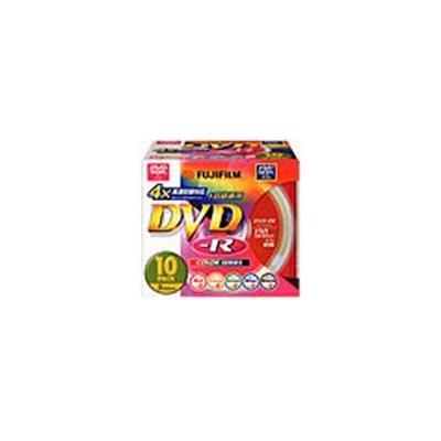 録画用DVD-R 4倍速 10枚 VDR120CX10 M 4X Aの商品画像
