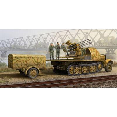 ドイツ軍 8tハーフトラック フライクーゲル 後期型 (1/35スケール AFV 01524)の商品画像
