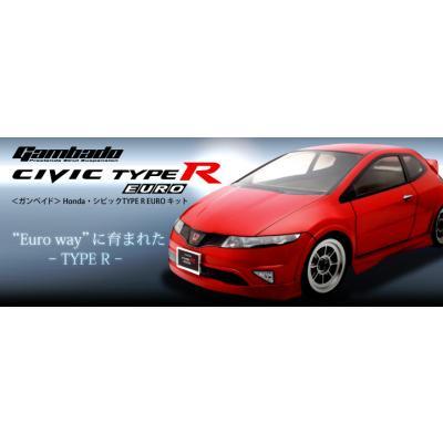 1/10RC ガンベイド Honda シビック TYPE R EURO キット 25601の商品画像