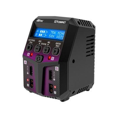 充電器 ACバランスチャージャー X2 バーティカル コンパクト 44297の商品画像