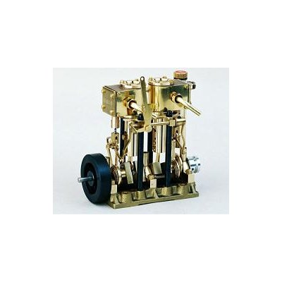 エンジン T2DR 複動2気筒スチームエンジンの商品画像