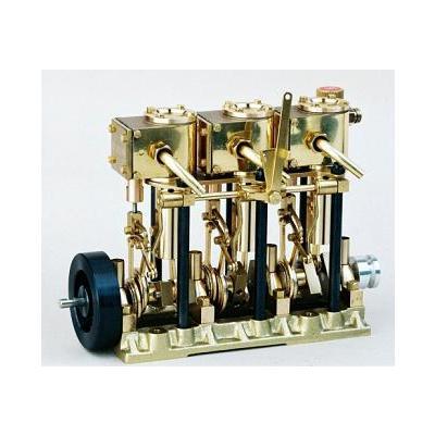エンジン T3DR 複動3気筒スチームエンジンの商品画像