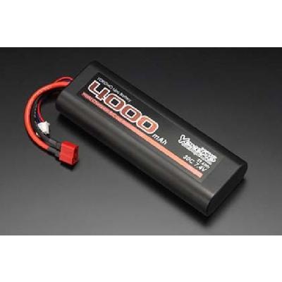 バッテリー Lipo 4000mAh/7.4V ストレートパック バッテリー (T型コネクター仕様) YB-L400ATの商品画像