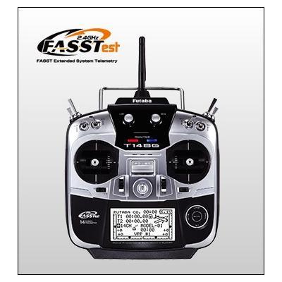 プロポ 14SGA (2.4GHzFASSTest) /レシーバー R7008SB (2.4GHzFASSTest) 飛行機用 T/Rセットの商品画像
