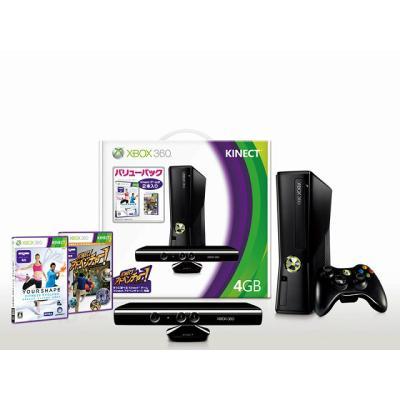 Xbox360 4GB + Kinect バリューパック S5G-00006の商品画像