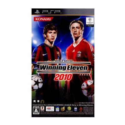 【PSP】 ワールドサッカーウイニングイレブン2010の商品画像