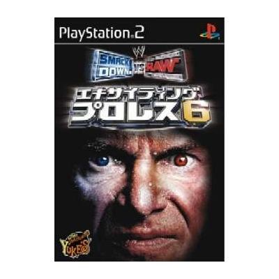 【PS2】 エキサイティングプロレス6 SMACKDOWN! VS. RAWの商品画像