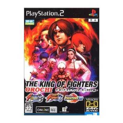 【PS2】 THE KING OF FIGHTERS -オロチ編- (通常版)の商品画像