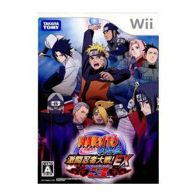 【Wii】 NARUTO -ナルト- 疾風伝 激闘忍者対戦! EX 3の商品画像