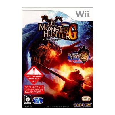 【Wii】 モンスターハンターG (通常版)の商品画像