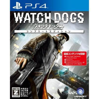 【PS4】 ウォッチドッグス [コンプリートエディション]の商品画像