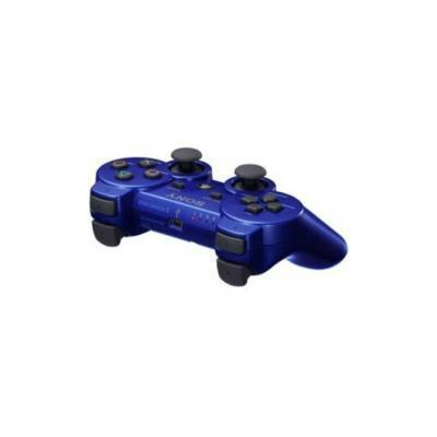 PS3 ワイヤレスコントローラ (DUALSHOCK 3) CECH-ZC2JMB (メタリック・ブルー)の商品画像