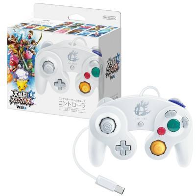 ニンテンドーゲームキューブコントローラ スマブラホワイトの商品画像