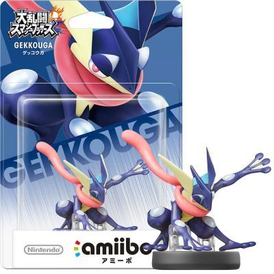 Wii U/3DS amiibo ゲッコウガの商品画像