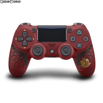 PS4 ワイヤレスコントローラー(DUALSHOCK4) MONSTER HUNTER: WORLD LIOLAEUS EDITION CUHJ-15008の商品画像