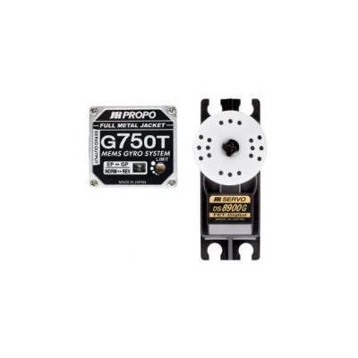 G750T-8900G ジャイロサーボセット 02564の商品画像