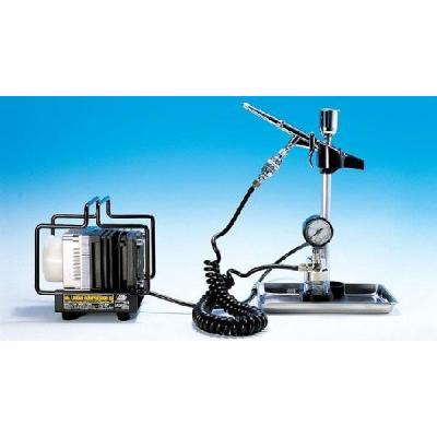 Mr.リニアコンプレッサーL5 / トリガーエアブラシ・圧力計レギュレーターセット (エアブラシ) (ノンスケール Mr.リニアコンプレッサー PS306)の商品画像