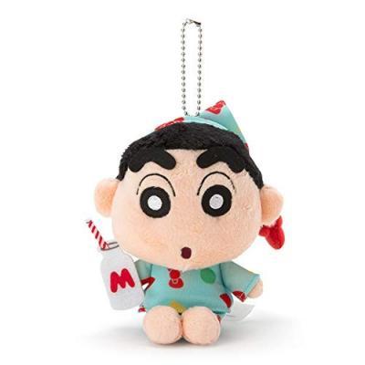 ハローキティ ハローキティ×クレヨンしんちゃん マスコットホルダー (しんちゃん パジャマ)の商品画像