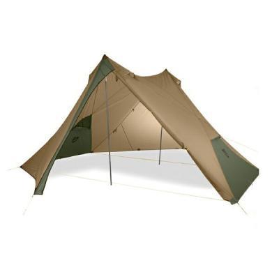 キャンプ大型シェルタータープ