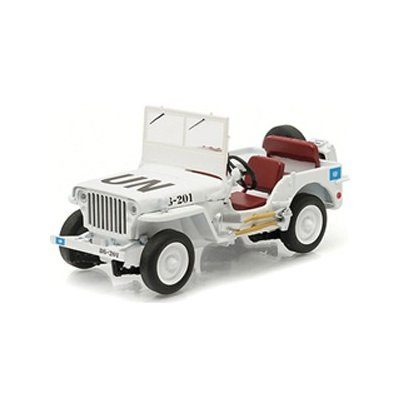 GreenLight Exclusives - Jeep Willys (United Nations decoration) (1/43スケール 86308)の商品画像