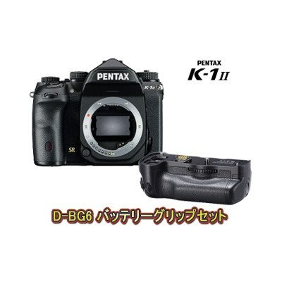 PENTAX K-1 Mark II ボディ+D-BG6 バッテリーグリップセット k1mk2setの商品画像