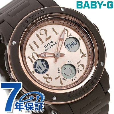 BABY-G SPECIAL COLOR MODELS 海外モデル BGA-150PG-5B1DR (pink gold/brown)の商品画像